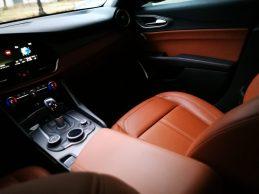Alfa Romeo Giulia asiento