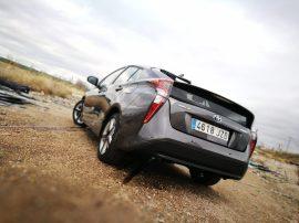 Toyota Prius Trasera