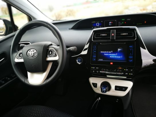 Consola Central Prius