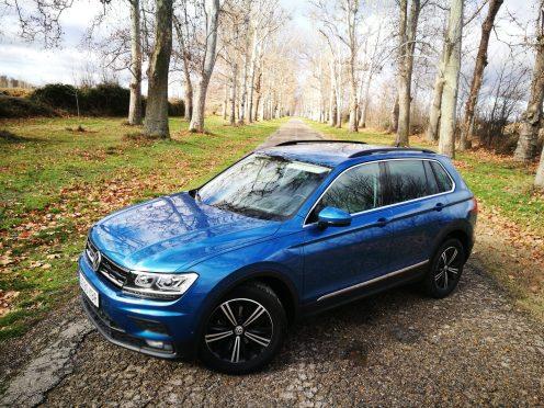 Pintura Azul Caribe VW Tiguan