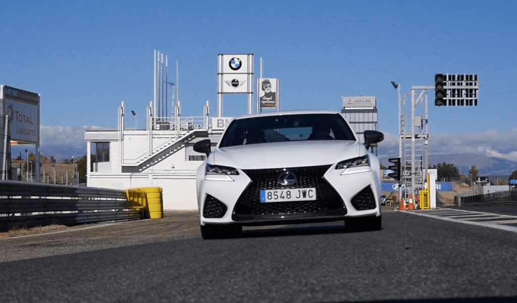 Lexus GSF Circuito Jarama