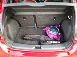 Nissan Micra Maletero