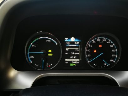 Marcador Toyota RAV4 Hybrid