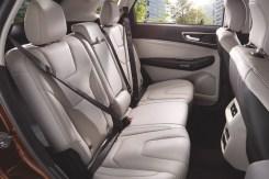Ford Edge - Asientos traseros
