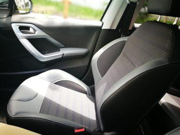 Detalle sujección lumbar asientos delanteros