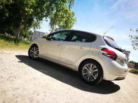 Vista exterior Peugeot 208