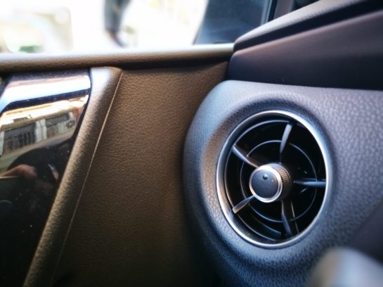 Salida de Aire Toyota Auris Hybrid