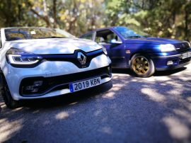 RS Trophy junto Clio Williams