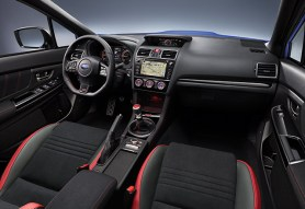 Interior WRX STI