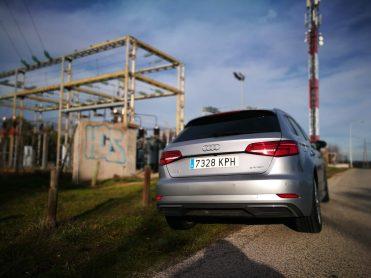 Trasera Audi A3 e-tron