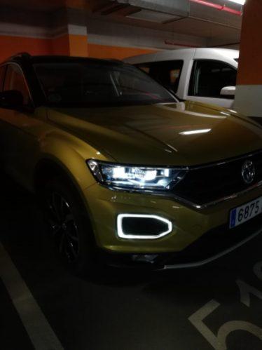 Iluminación Led en la apertura del vehículo