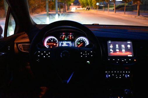 Iluminación interior Opel Astra GSI Line