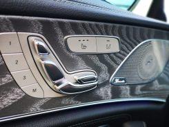 "Mandos regulación asientos ""Made in Mercedes"""
