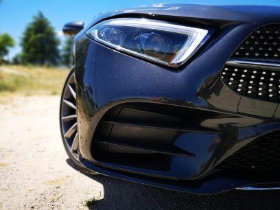 Detalle paragolpes delantero Pack AMG Mercedes CLS
