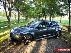 Vista exterior Audi RS3 Sportback