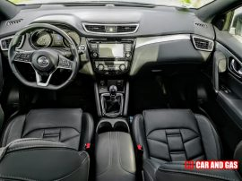 Interior Nissan Qashqai acabado Tekna+