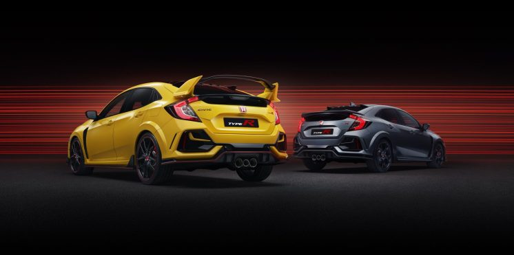 2020 Civic Type R Range - Type R Limited Edition & Type R Sport Line