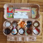 Kako kutiju za jaja pretvoriti u igračku