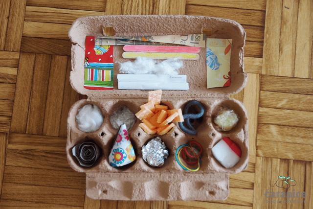 Igračka od kutije za jaja