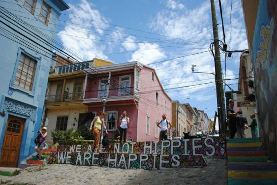 Chili - Valparaiso - We are not hippies