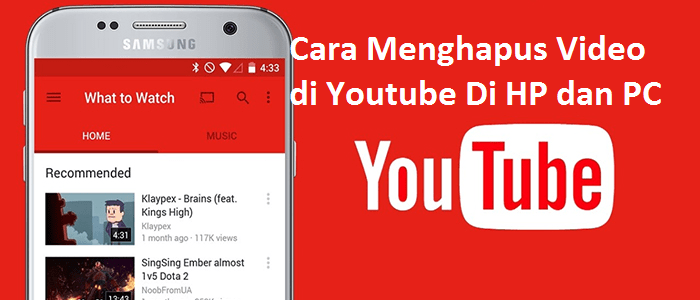 Photo of 3 Cara Menghapus Video di Youtube Secara Permanen + Gambar