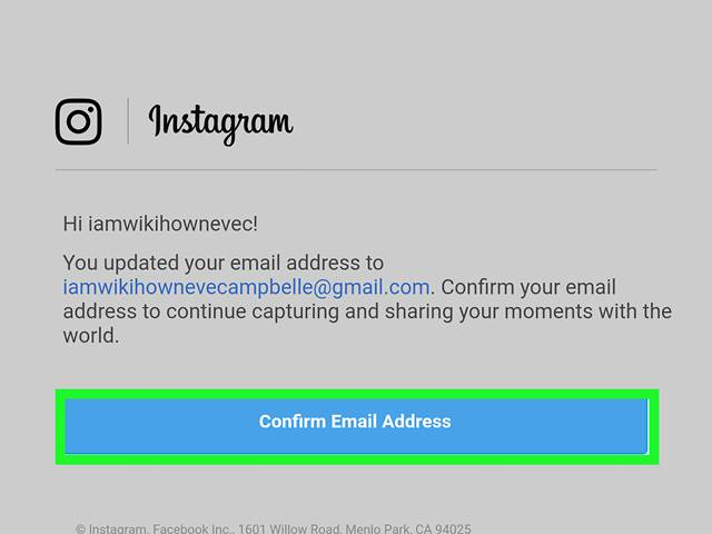 Lupa Password Instagram Lewat Email