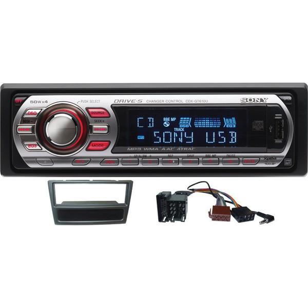 Sony Cdx Gt610u Cd Mp3 Usb Vauxhall Car Stereo Upgrade