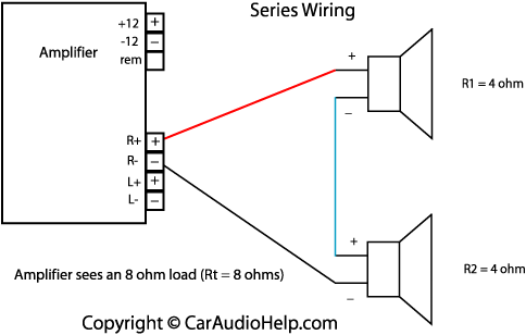 Wiring Diagram For To 2 4 Ohm Dvc Subs Crutchfield