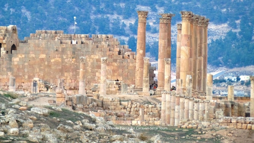 Temple of Athena in Jerash
