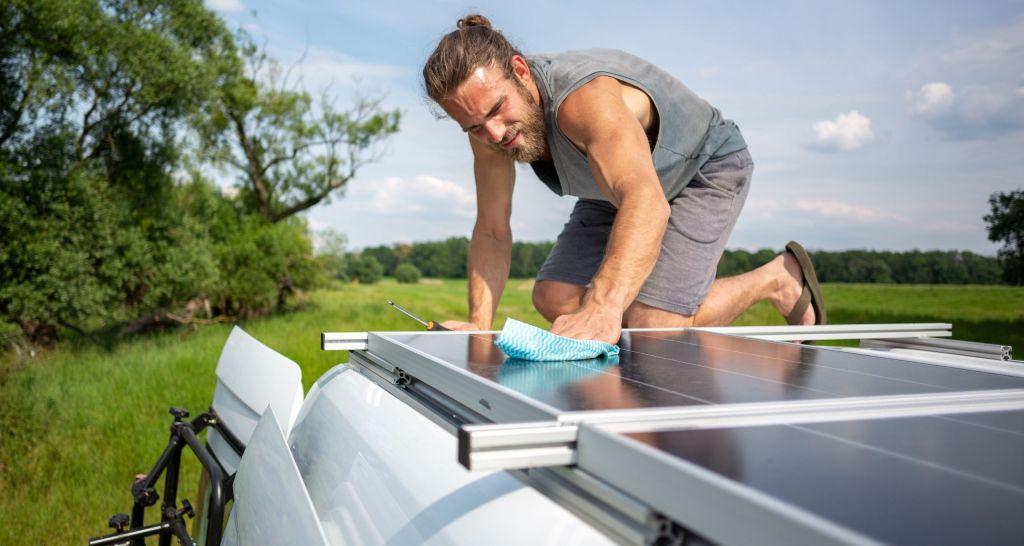 panel solar techo camper