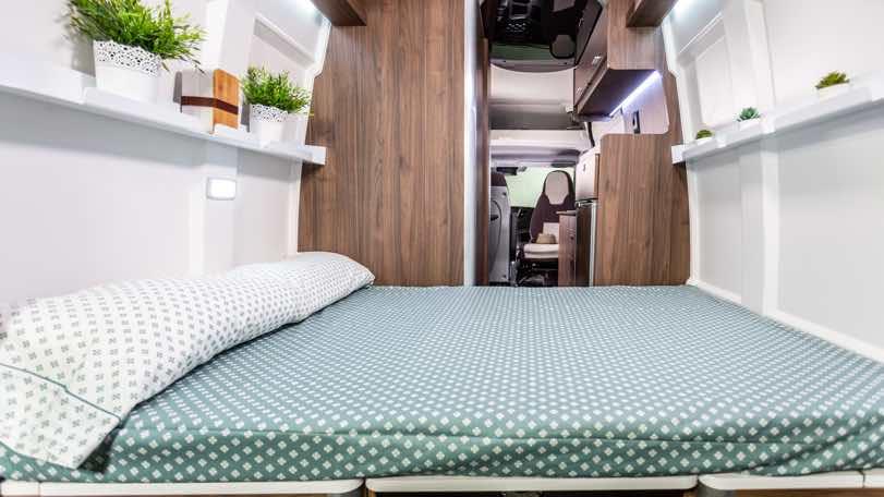 interior de la Iveco Daily Camper
