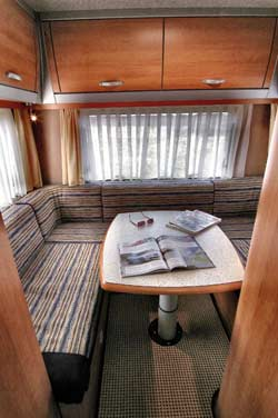 Eura Mobil Living Area