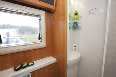 Auto-Trail Excel washroom