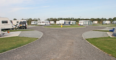 Attractive layout of the pitches