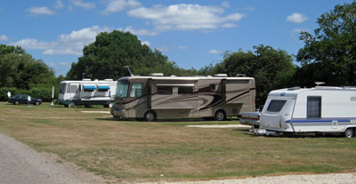 American Motorhomes catered for at Highclere Farm