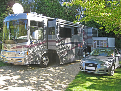 Large units can be accommodated
