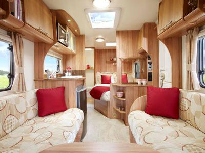 Bailey Orion 430-4 interior