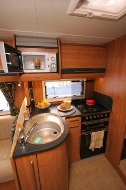Auto-Trail Comanche Kitchen