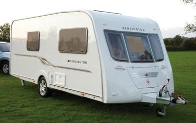 A S Kensington Touring Caravan Exterior