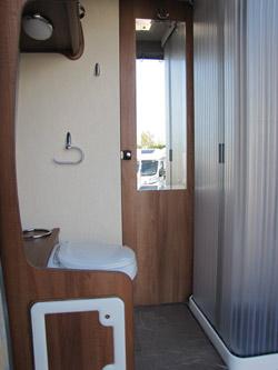 Auto-Sleepers Kemerton washroom