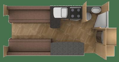 Bentley Donnington motorhome floorplan