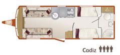 Cadiz floorplan