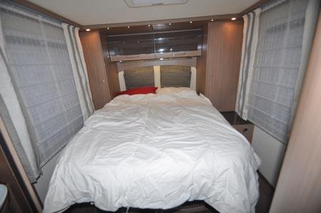 burstner bedroom