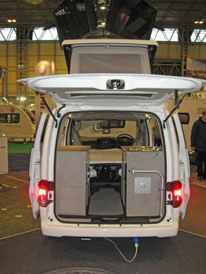 Lunar Vacanza Camper Car Exterior Doors