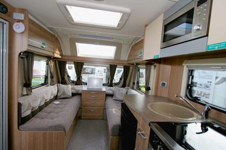 Sterling Eccles Sport 584 Caravan Lounge
