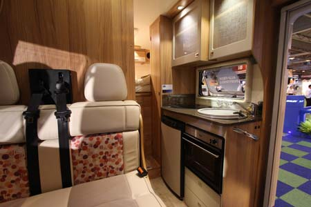 Bailey Approach Compact 520 Motorhome Kitchen