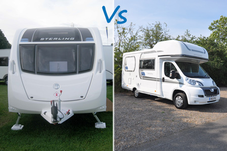 Caravan or Motorhome - would you swap?