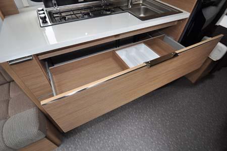 2014 Adria Adora Seine storage