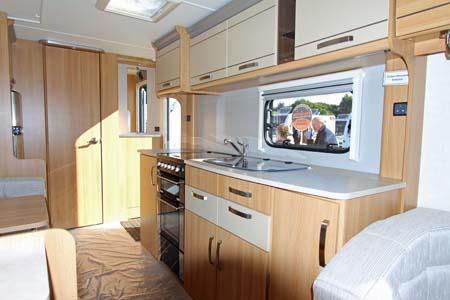 Coachman Laser 620 Kitchen