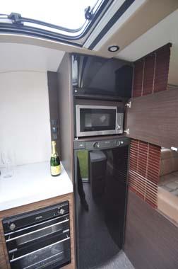 Adria Astella Amazon Glam motorhome kitchen 2